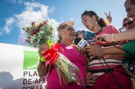 La abuela Josefa Hernández quedó ayer en libertad