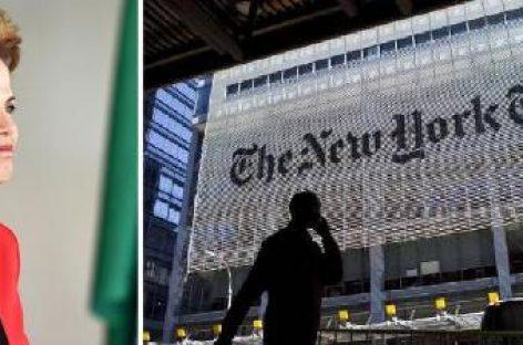 El New York Times contra un golpe en Brasil