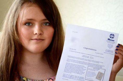 Nicole Barr, de 12 años y que pertenece a la etnia gitana, es la niña más inteligente del mundo
