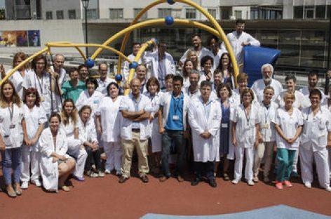 Trasplantes sincronizados en Barcelona: en 28 horas seis órganos a cinco niños muy graves