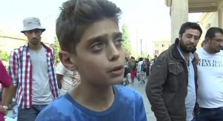 """Clamor en internet: """"Parad la guerra en Siria y no iremos a Europa"""""""