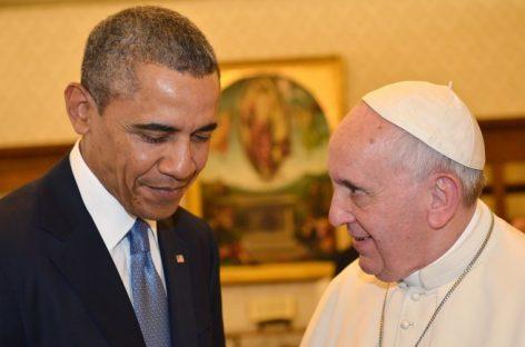 El Papa y Obama confirman su alianza en la ecología y la inmigración