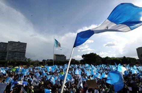 La revolución pacífica que sacó al presidente de Guatemala
