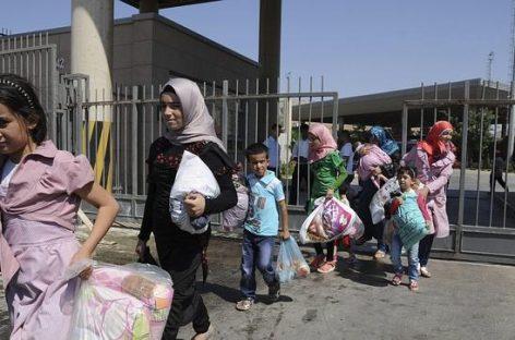 La ONU pide a la comunidad internacional que conceda asilo a los refugiados sirios