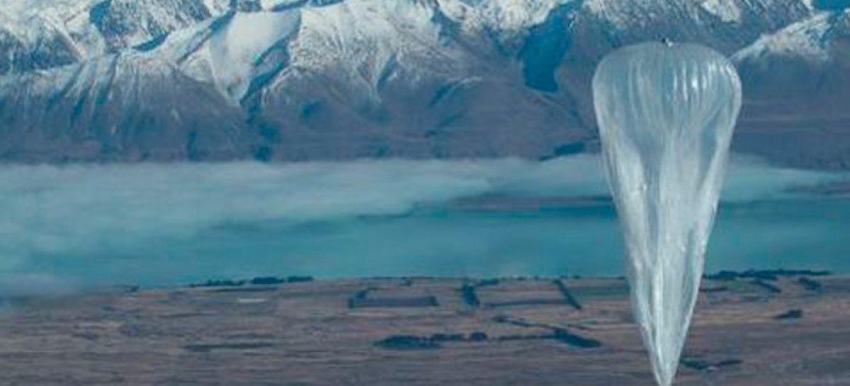 Los globos de Google que llevarán Internet por todo el mundo