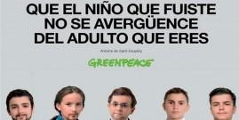 Greenpeace España devuelve a la infancia los candidatos políticos para que defiendan el medio ambiente