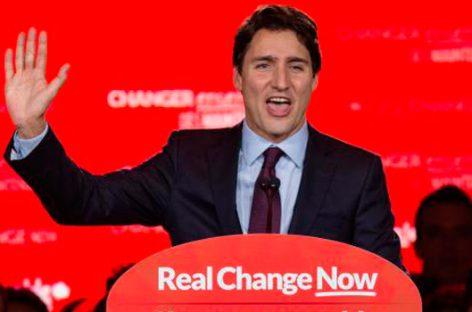 Justin Trudeau, nuevo primer ministro de Canadá que liderará la revolución tranquila