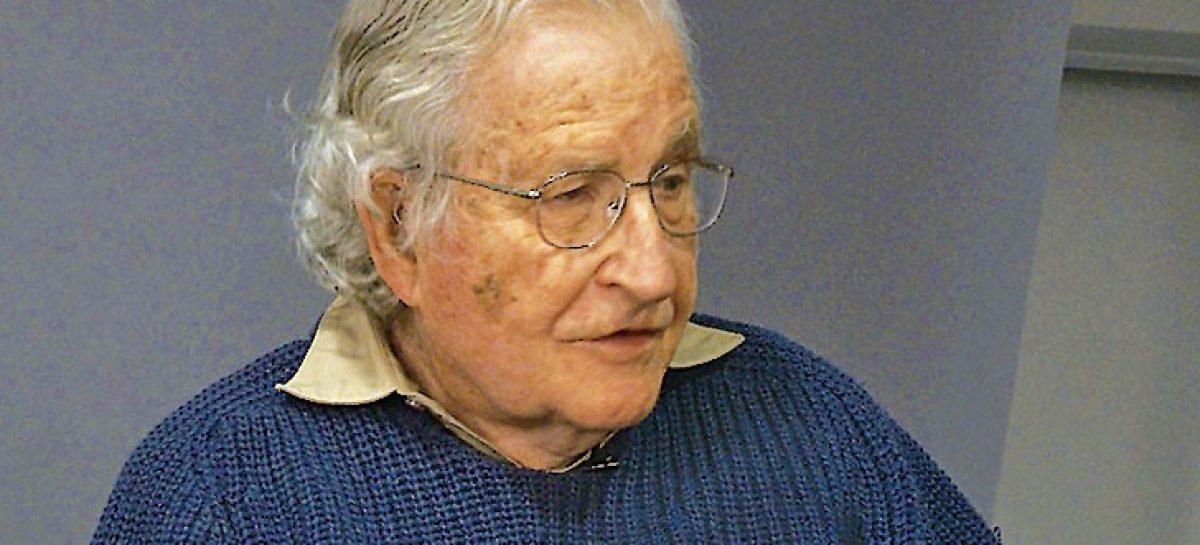 El fin del periodo neoliberal. Noam Chomsky