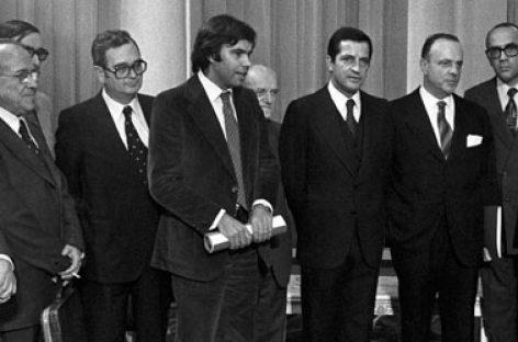 Pactos de la Moncloa, un grupo de exministros y exdiputados españoles reivindican los acuerdos