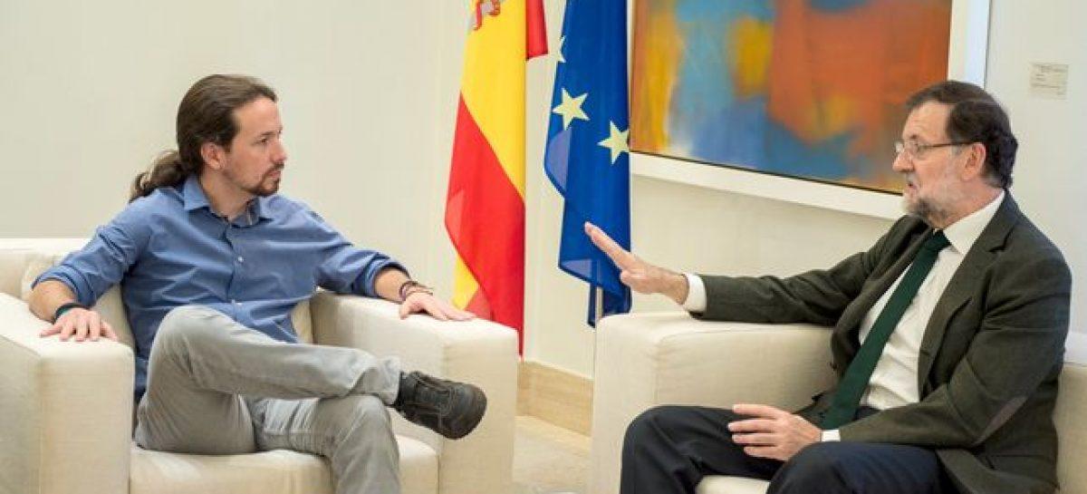 El secretario general de Podemos defiende un referéndum vinculante para Cataluña