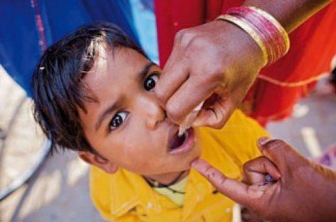 Polio, en los últimos 25 años los casos en el mundo se han reducido en más de un 99 por ciento