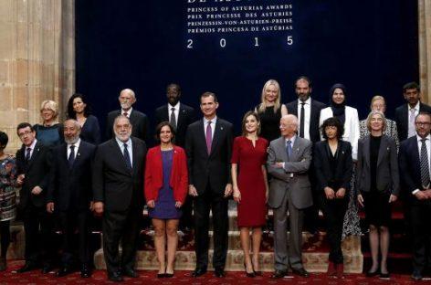 Entrega de los Premios Princesa de Asturias con el mensaje de unidad de fondo