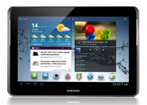 Tableta Samsung en portal T - Mobile