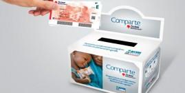 Acción Contra el Hambre. Compartir un ticket restaurante ayuda a los niños con desnutrición