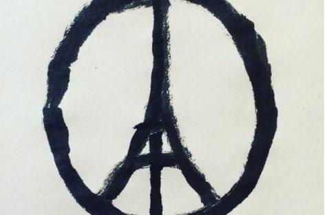 Icono solidario con París