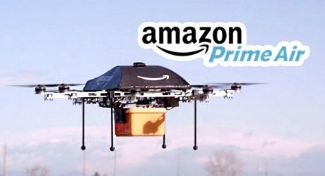 Amazon prepara un sistema de logística de reparto con drones