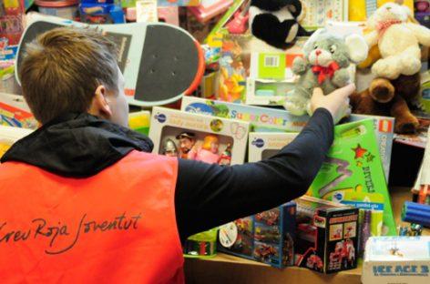 Cruz Roja. Campaña de recogida de juguetes para los niños que más lo necesitan