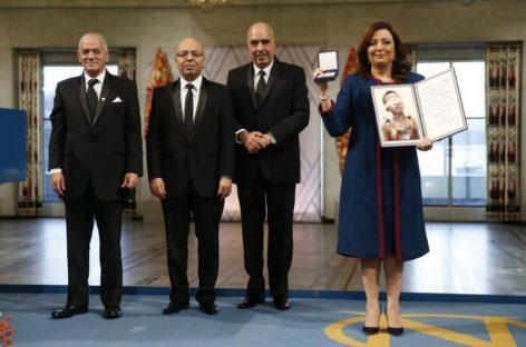 El Cuarteto Nacional de Túnez recibe 'con gran honor' el Nobel de la Paz