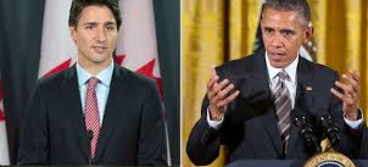 Barack Obama recibirá a Justin Trudeu para profundizar su relación bilateral