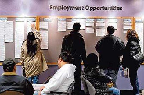 EE.UU cierra 2015 con la tasa de desempleo más baja en siete años