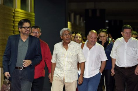Capítulo final del proceso de paz con las FARC en Colombia