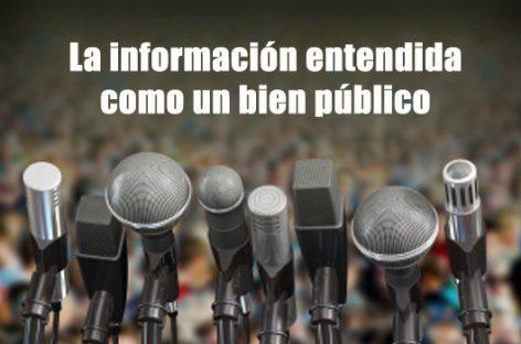 La información entendida como un bien público