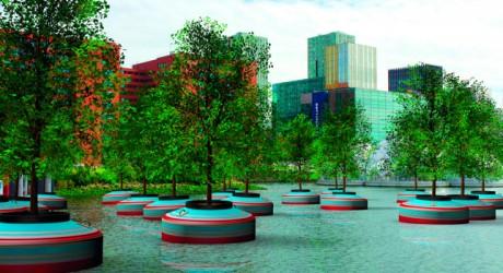 Rotterdam instalará el primer bosque flotante del mundo