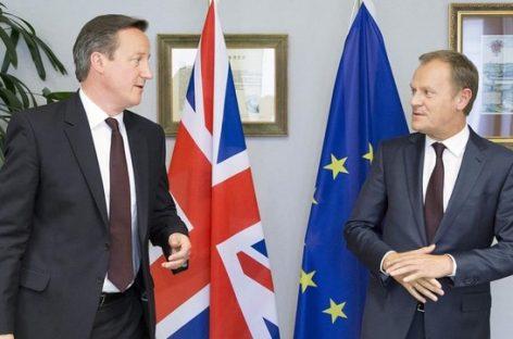 Avanzan las negociaciones para que Reino Unido permanezca en la UE