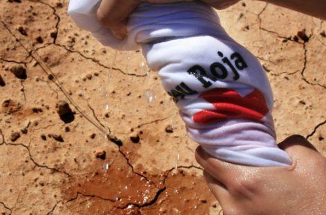Cruz Roja. Proyectos de agua para garantizar su acceso en todo el mundo