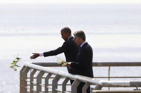 """Obama en Argentina: prometió desclasificar más archivos y dijo """"Nunca más"""""""