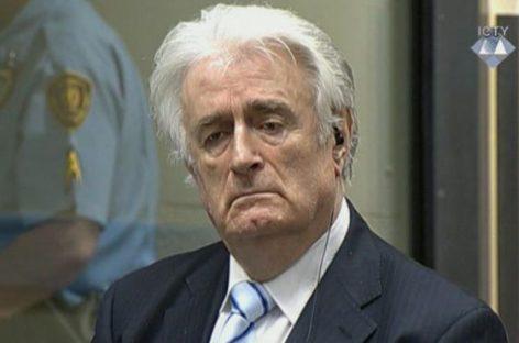 Sentencia de 40 años de prisión a Radovan Karadzic