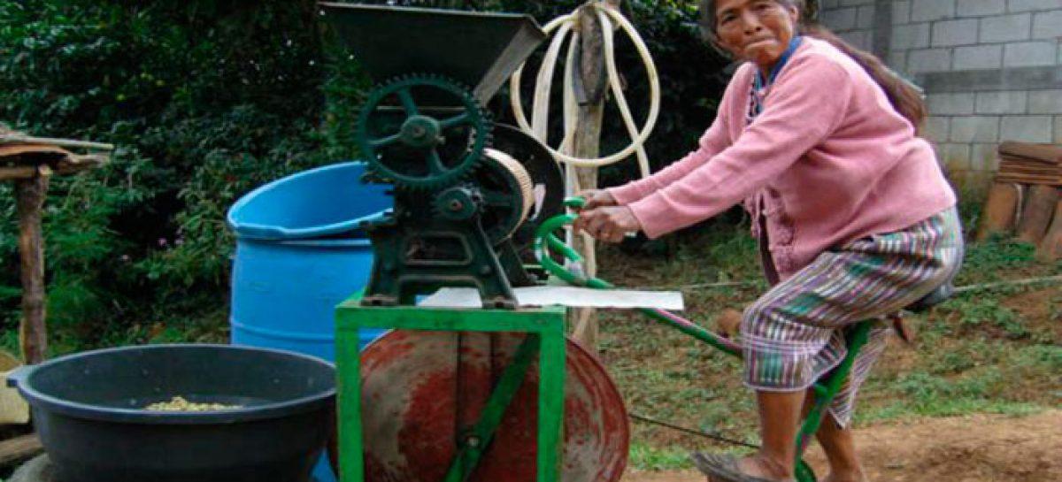 Las bicimáquinas promueven el pequeño negocio sostenible