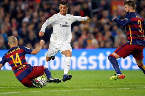 El Real Madrid gana al Barça en el Camp Nou