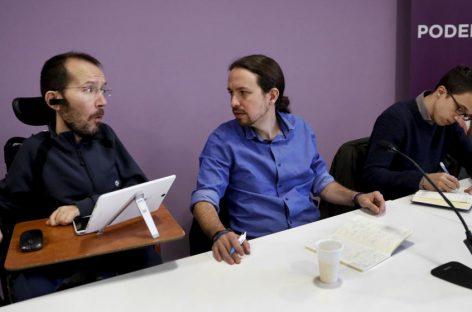 En España, Podemos consultará a las bases si se abstiene, forma gobierno o fuerza elecciones