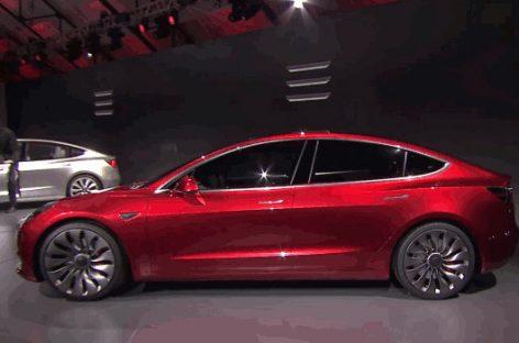 Tesla Model 3, el primer coche completamente eléctrico dirigido a las grandes masas