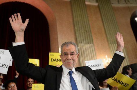 Austria se salva de la ultraderecha