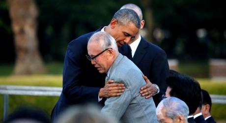 El abrazo de Barack Obama en Hiroshima