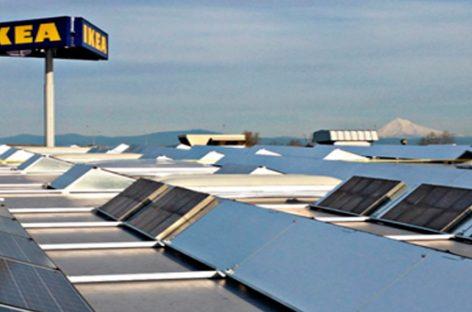 Paneles fotovoltaicos, la apuesta de Ikea para Gran Bretaña