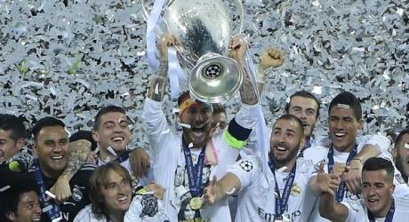 El Madrid logra la undécima copa de Europa