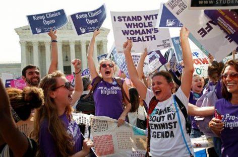 El Tribunal Supremo de EEUU refuerza el derecho de las mujeres a abortar en el Estado de Texas