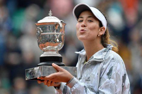 Muguruza, gana en París en 18 años Roland Garros
