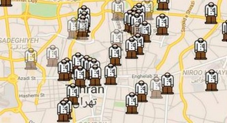Gershad, la aplicación que ayuda a evitar los controles policiales abusivos en Irán