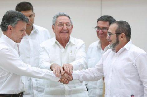 El Gobierno de Colombia y las FARC acuerdan el fin del conflicto armado