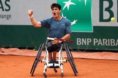 El argentino Gustavo Fernández, campeón de tenis adaptado en Roland Garros