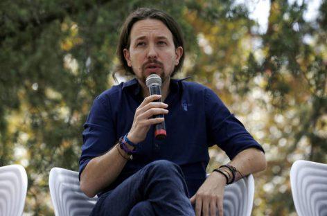 """En España, Pablo Iglesias reclama """"refundar la UE"""""""