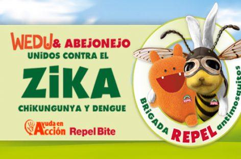 Ayuda en Acción. Campaña en la prevención del virus Zika en América Latina