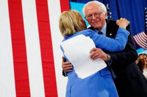 Hillary y Sanders, nuevos aliados para lanzar el Partido Demócrata a la victoria