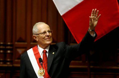 Kuczynski promete reducir la pobreza en Perú