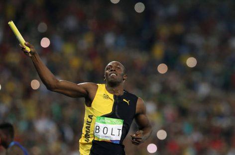 Bolt completa su triple-triple