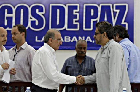 Gobierno y FARC acuerdan la tregua y el desarme